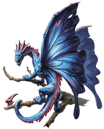 Faerie Dragon (Red)