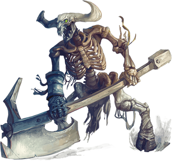 Minotaur Skeleton