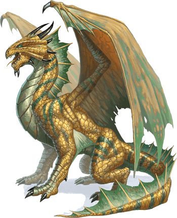 Adult Bronze Dragon